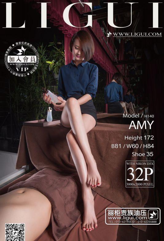 [Ligui丽柜]2015.12.11 Model AMY[32+1P/27.4M]