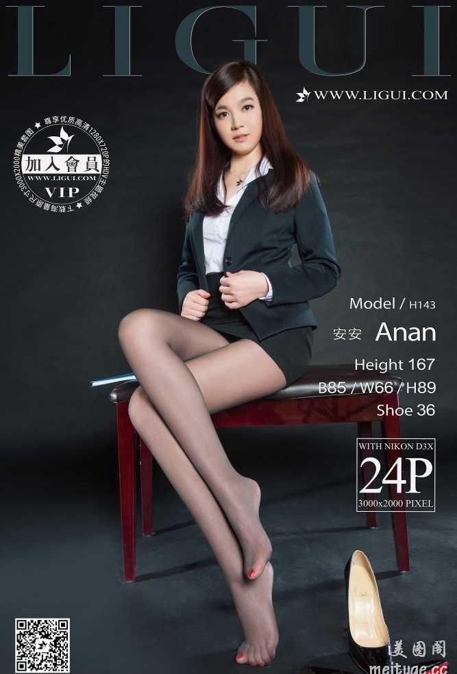 [Ligui丽柜]2016.01.20 Model 安安[24+1P/15.4M]