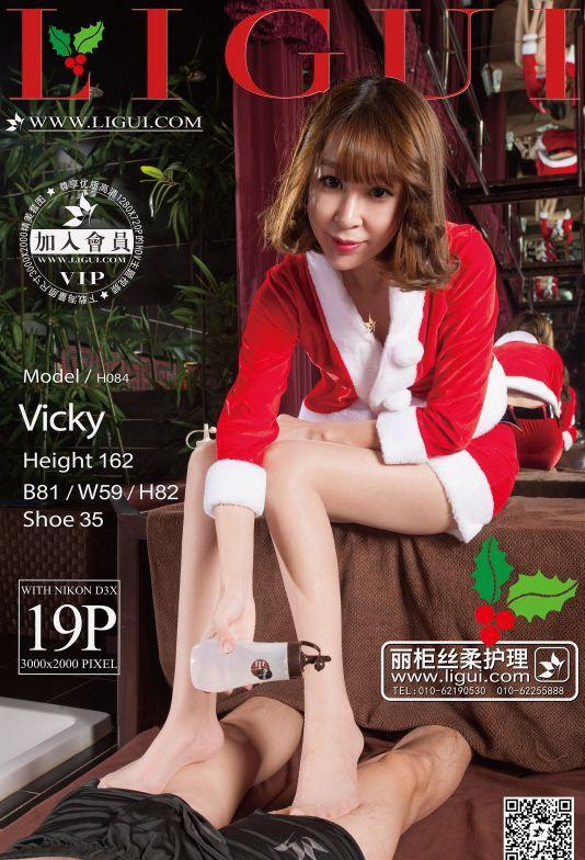 [Ligui丽柜]2015.12.29 Model Vicky[19+1P/18.7M]