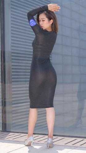 黑色连体微透裙美女高清原图(159P)[3.44GB/JPG]