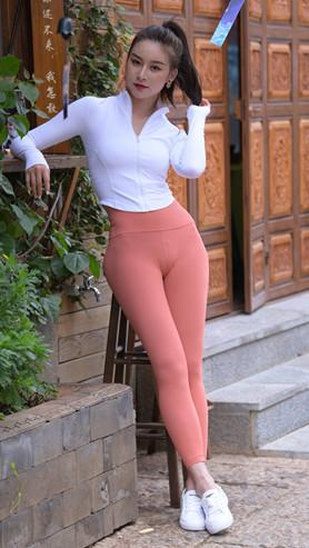 (套图一)珊瑚色瑜伽裤美丽小姐姐(364P)[7.35G/JPG]