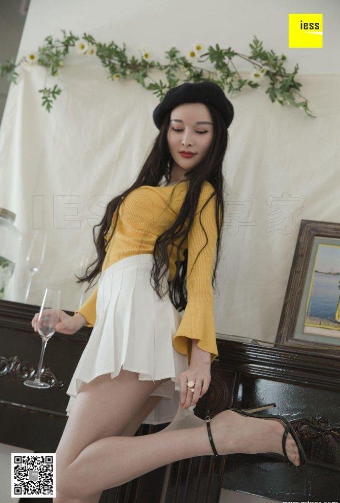 [IESS] 2018.11.21 丝享家365:梦梦 – 梦梦仙女系白色短裙 [89P-33…