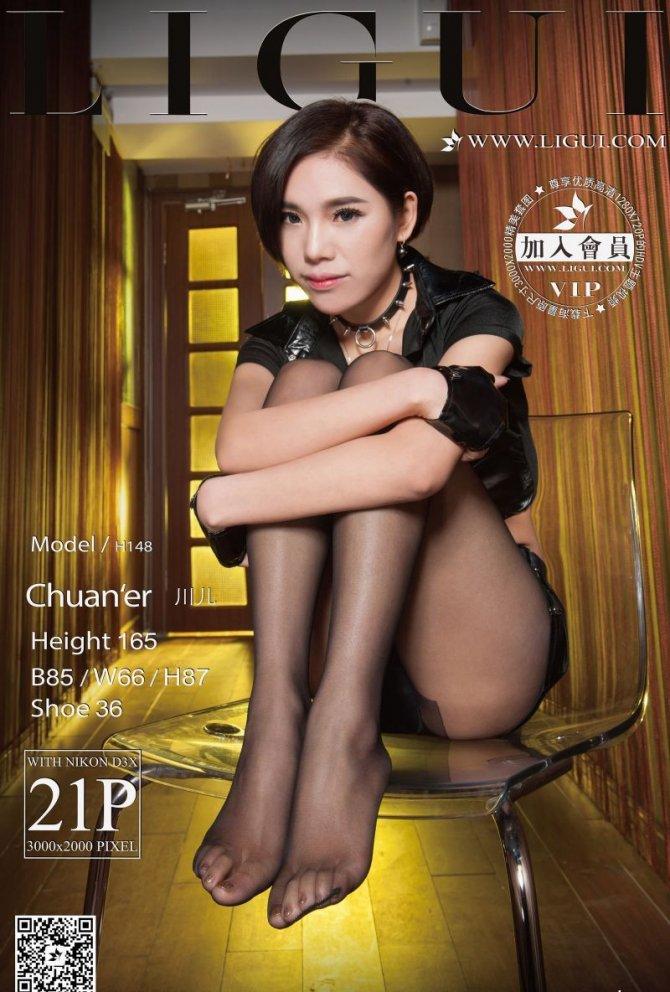 [Ligui丽柜]2016.11.28 网络丽人 Model 川儿[21+1P/23M]