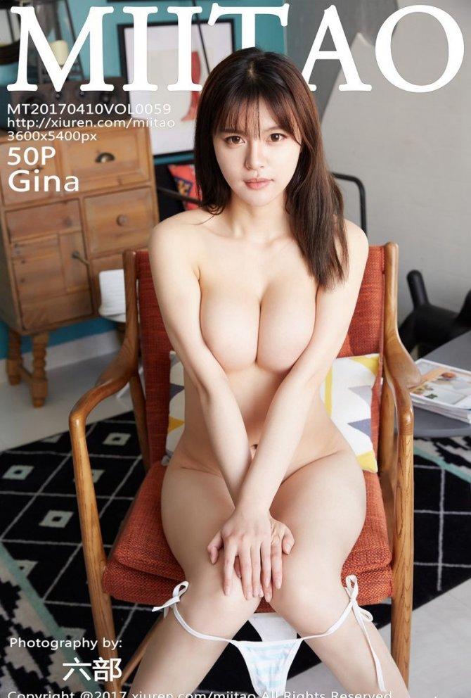 [MiiTao蜜桃社] 2017.04.10 Vol.059 Gina [50+1P-172M]