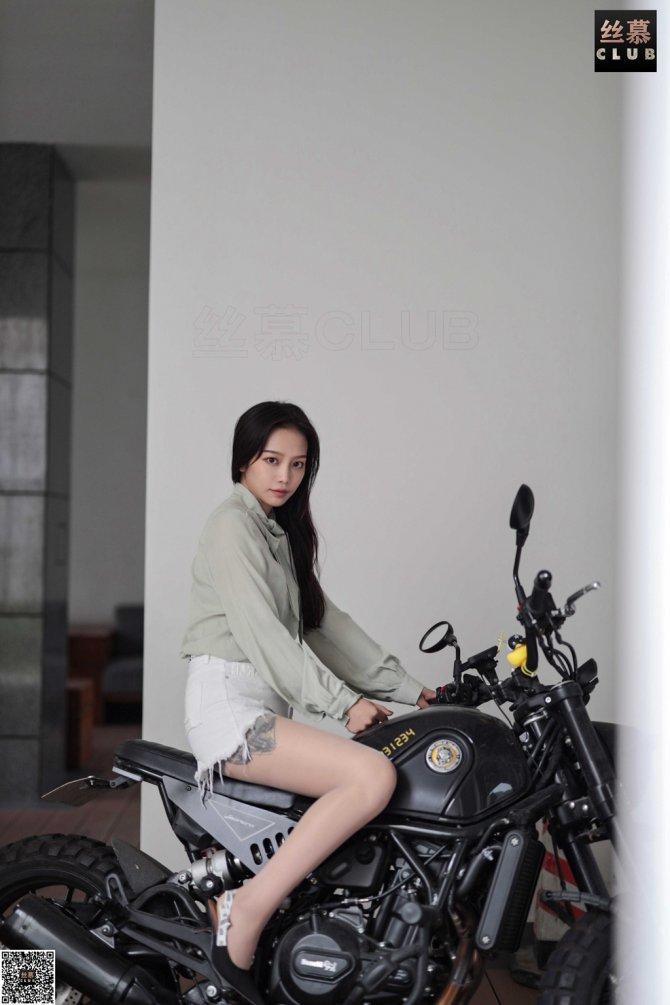 丝慕写真 SM095 小舒淇 – 肉丝女骑手[77P55.5M]