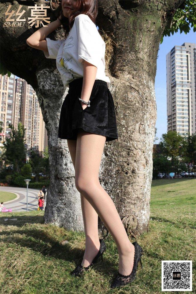 丝慕写真 SM368 四月《双丝》
