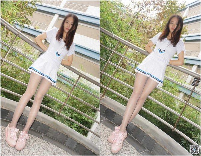 """[妖精视觉] 苏苏-超薄""""玲珑连裤""""丝袜"""