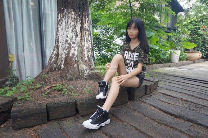 [Student_Model]编号30-小龙猫 迷彩上衣与白嫩脚丫的完美结合