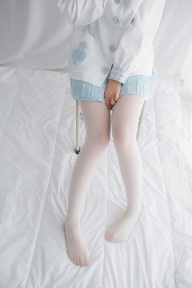 轻兰映画 VOL.001 少女白丝