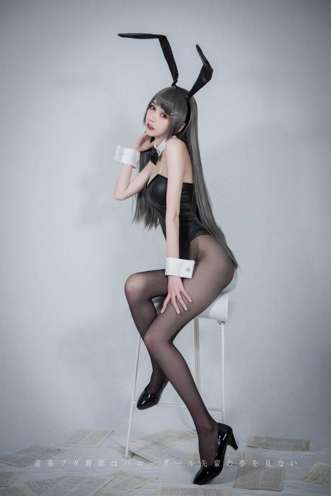 学姐兔女郎19P