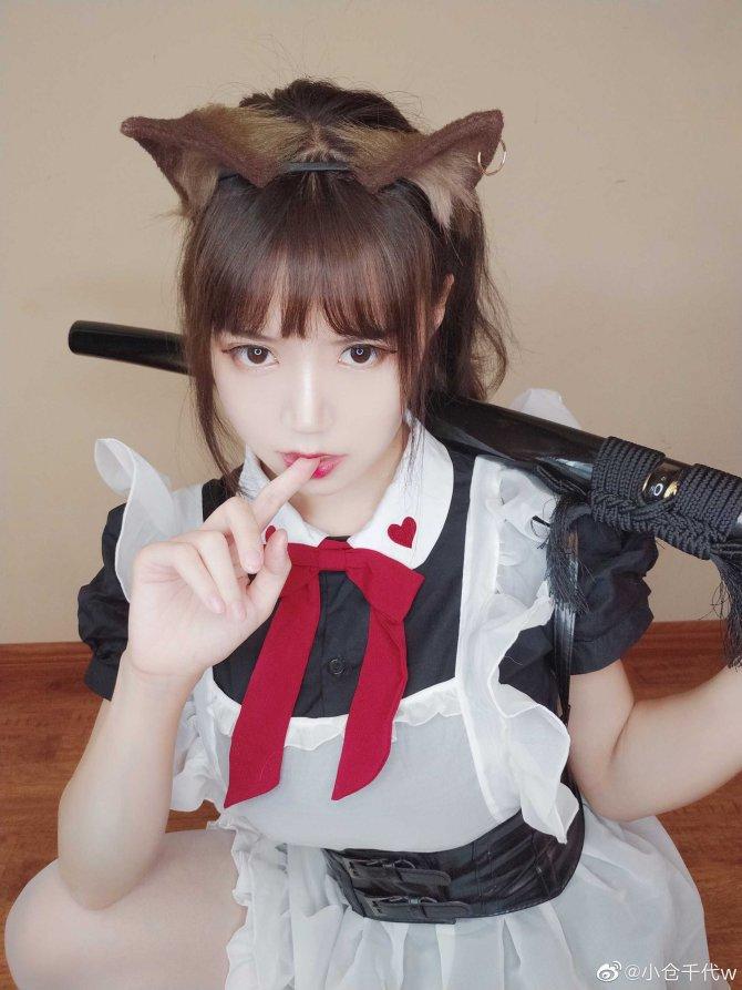 带刀女仆9P