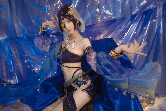 蓝色魅影11P