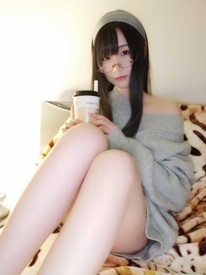 曉美媽NO.015奶茶小姐11P-34MB11P