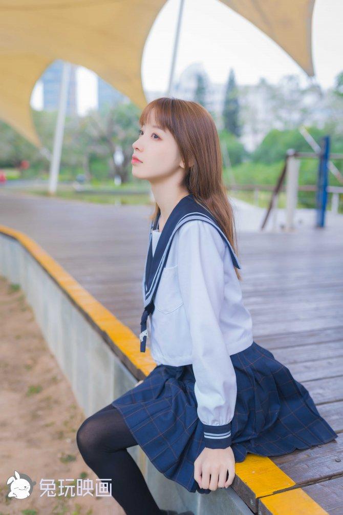 祖木子-小清新JK少女45P-392MB45P