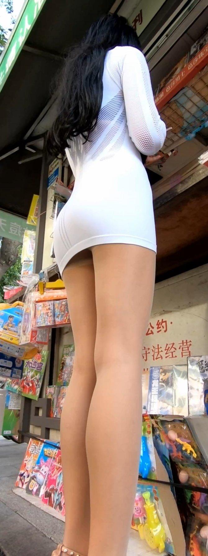 [9P][御风作品87][子涵妹妹 白色短裙随拍][2K][1.23G]