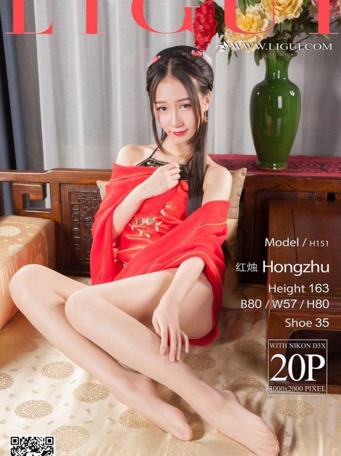 [Ligui丽柜]2017.05.08 时尚写真 Model 红烛[20+1P/18M]