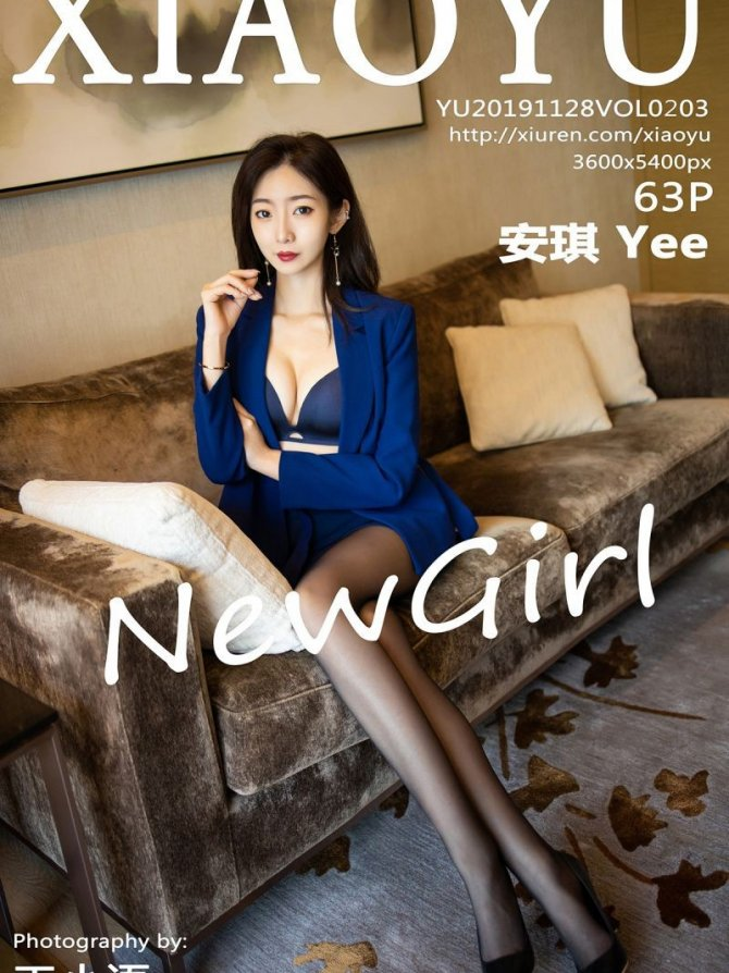 [XIAOYU画语界] 2019.11.28 Vol.203 安琪 Yee [63+1P-148M]