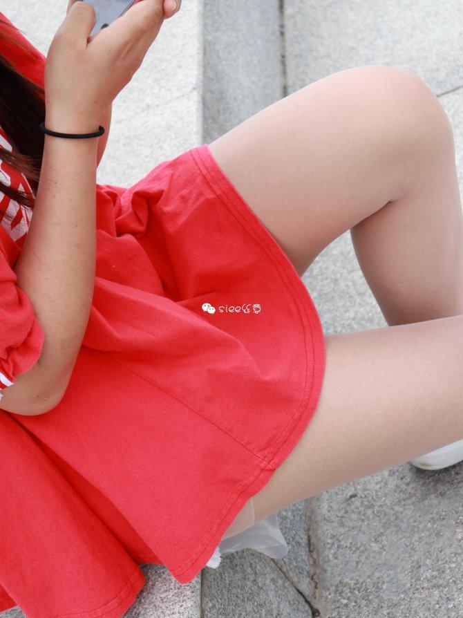 [SIEE丝意] No.163 梦梦~红衣女孩 运动鞋 [50P81MB]
