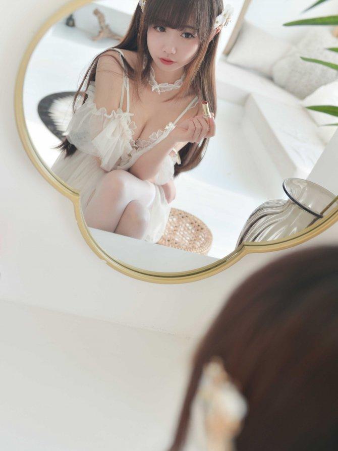喵糖映画 VOL.206 吊带纱裙