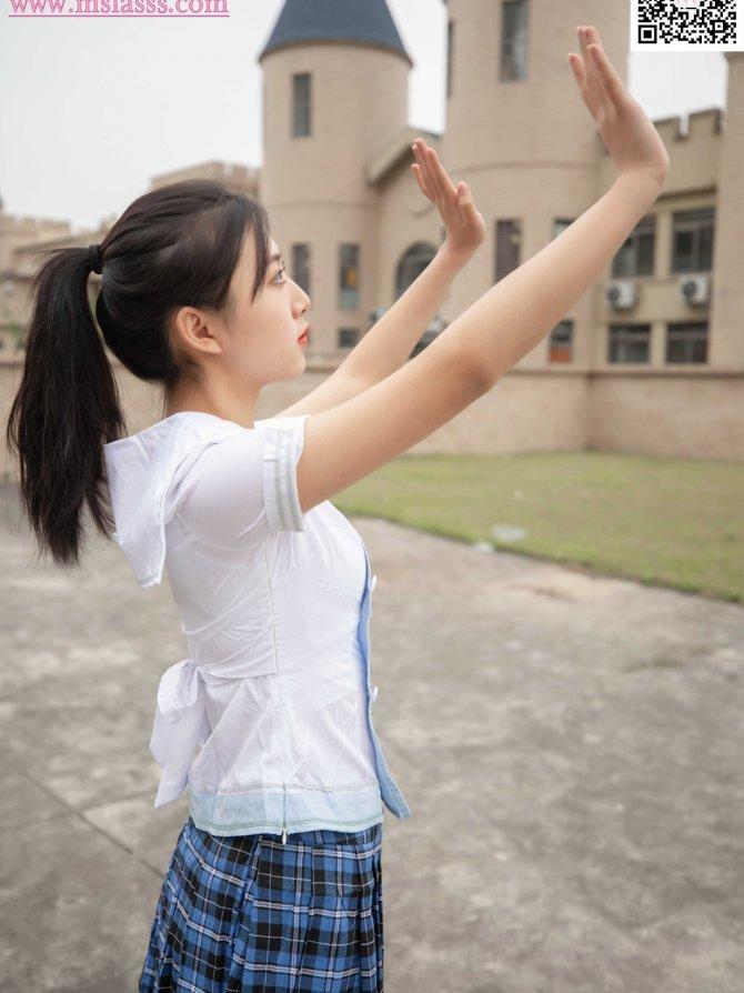 [梦丝女神] NO.107 珂珂 匡威鞋女神(带视频)