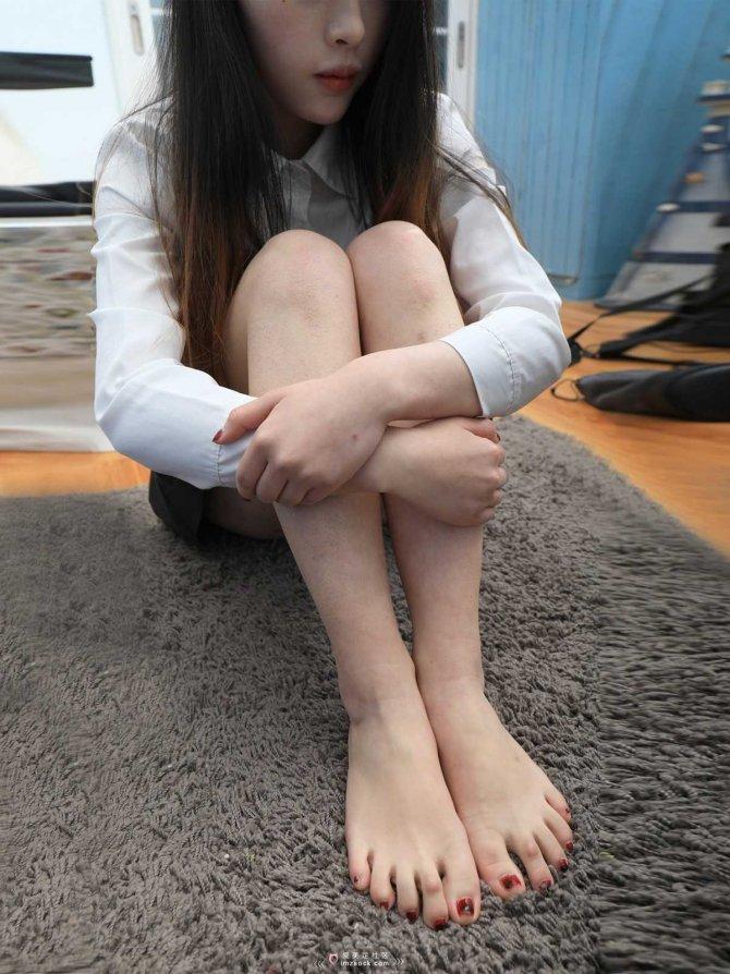 [MZSOCK]爱美足024 小希棉袜小白鞋