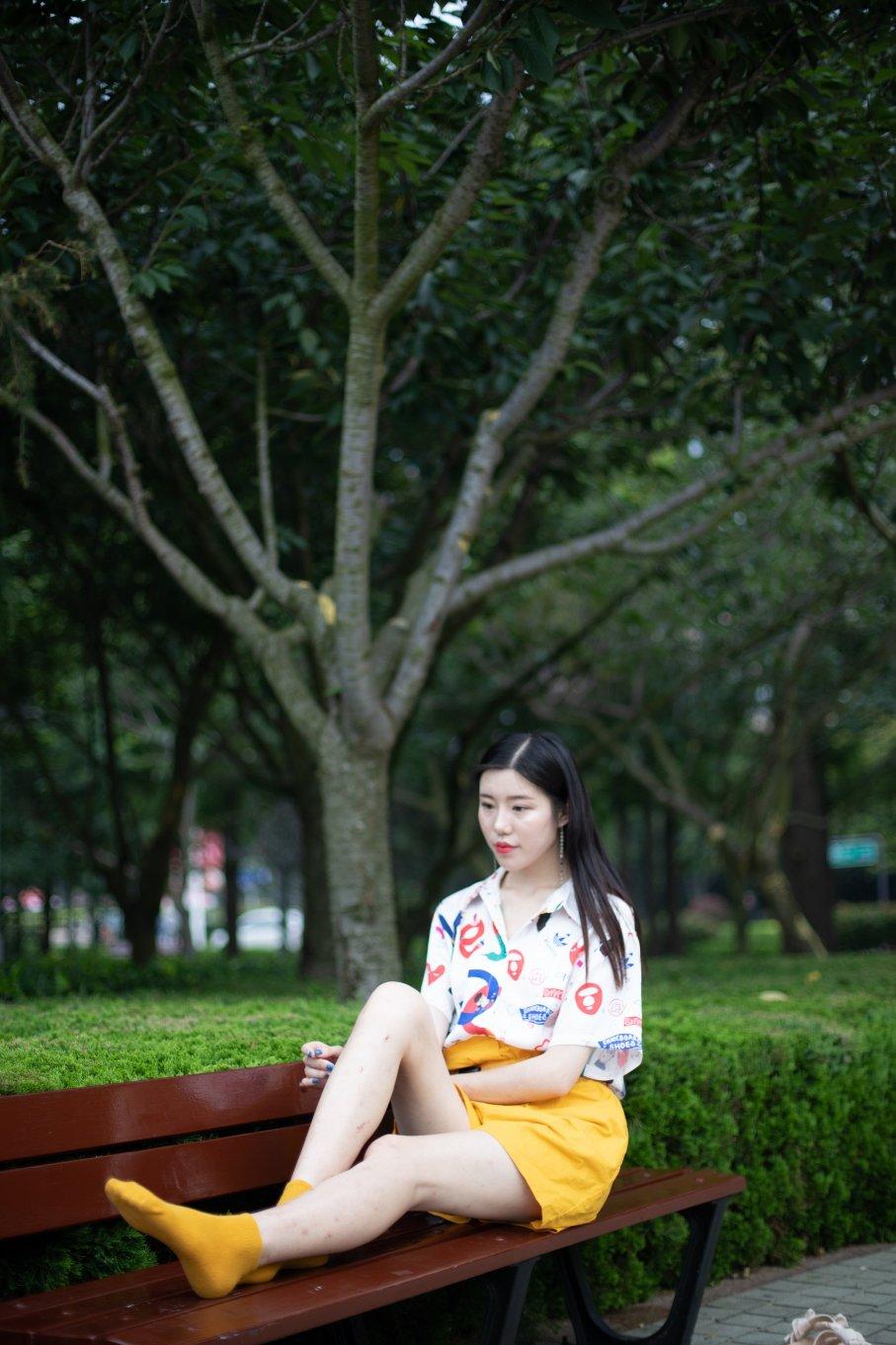 036期:爱琪-逆天长腿(拖鞋、棉袜、裸足)