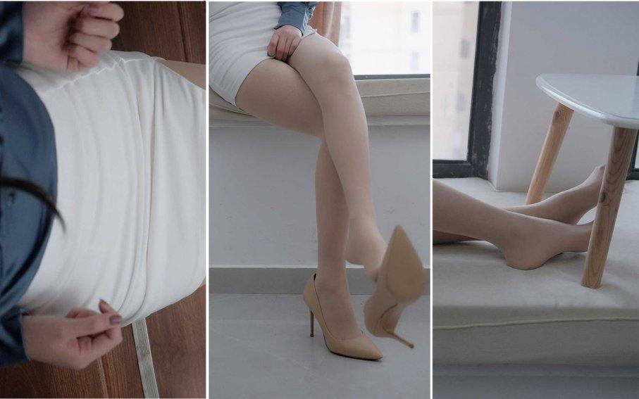 【裸足】顶级颜值叶子同学短发JK裸足秀,神仙小萌妹(1)【53P】