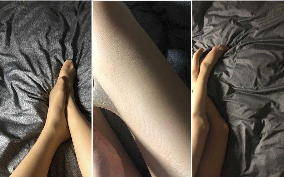 【裸足】阿妹肌肤如雪,修长的希腊美足,让人垂涎三尺(1)【59P】