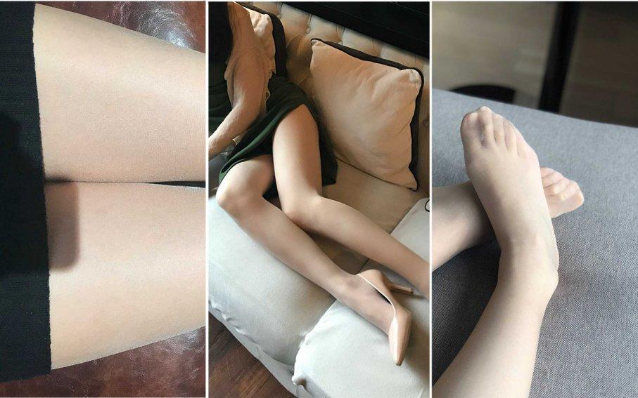 """【裸足】赤足者新""""足王""""完美长脚趾超嫩足底的喵喵给你看她的CUTEFEET(1)【49P"""