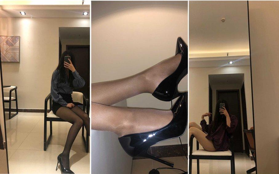 【ecolog极品】细长脚板下的黑丝诱惑(29P)