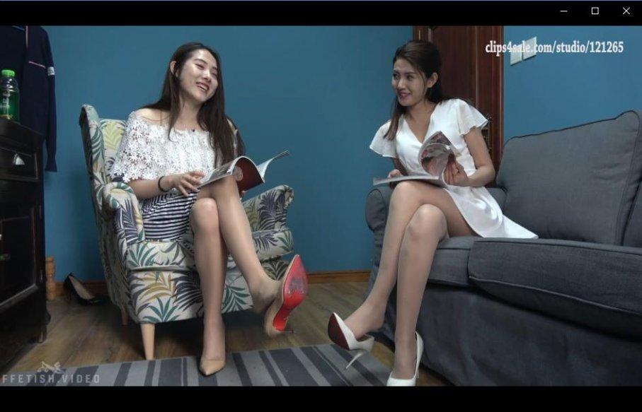 [视频] K&M 12-高跟肉丝姐妹花