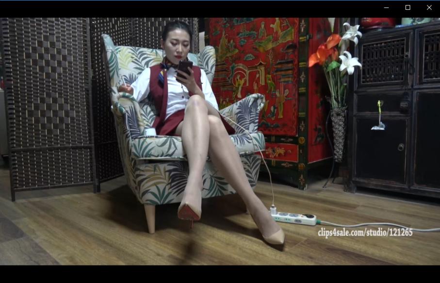 [视频] K&M 60-欣欣空姐制服