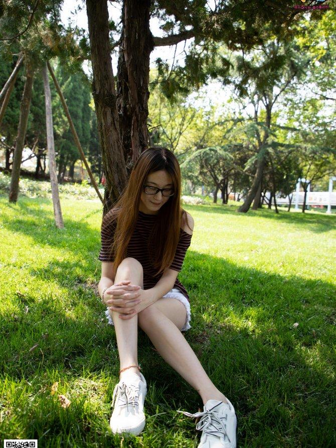 023期:苏轩-身高176cm的大长腿(帆布鞋、棉袜、裸足)